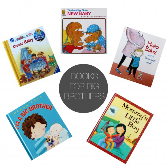 Friday 5 - books for big brothers