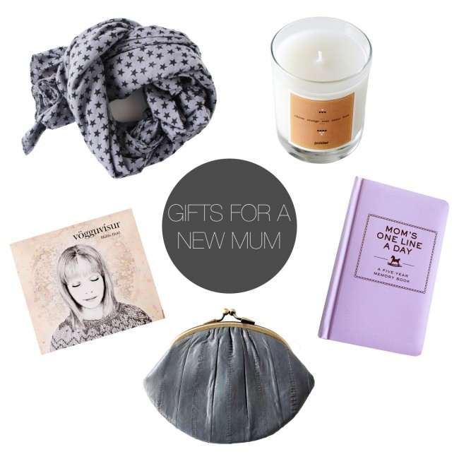 Friday 5 - gifts for a new mum