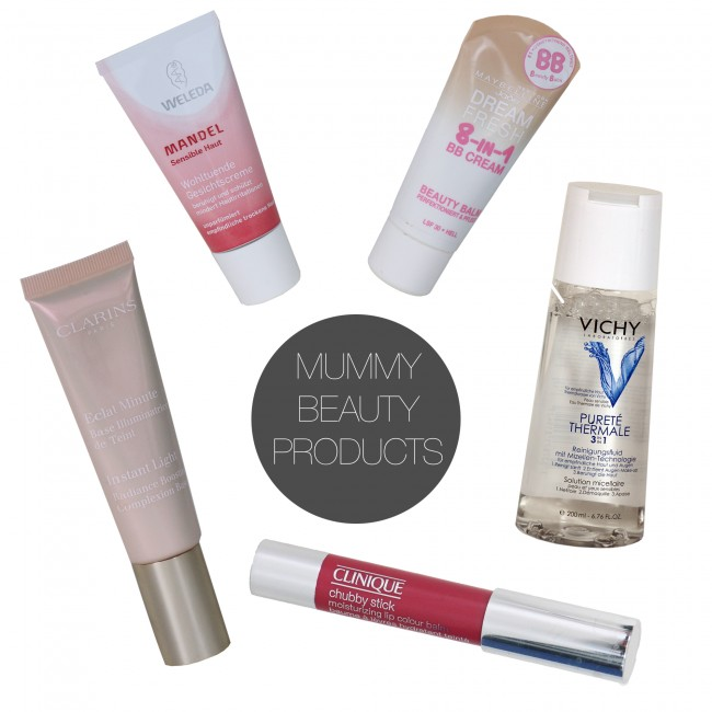 Friday 5 - mummy beauty products