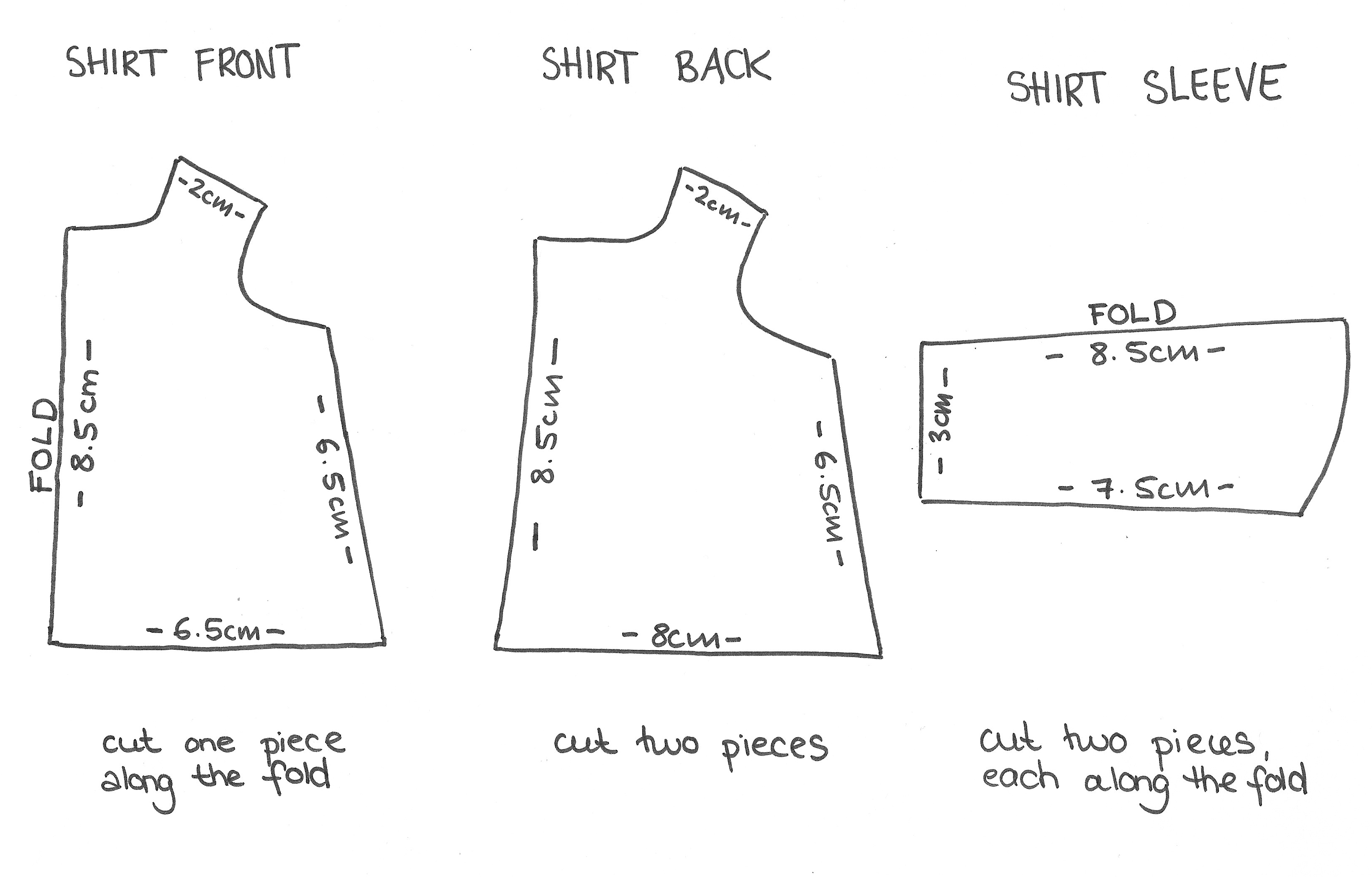 This is a photo of Invaluable T Shirt Pattern Printable