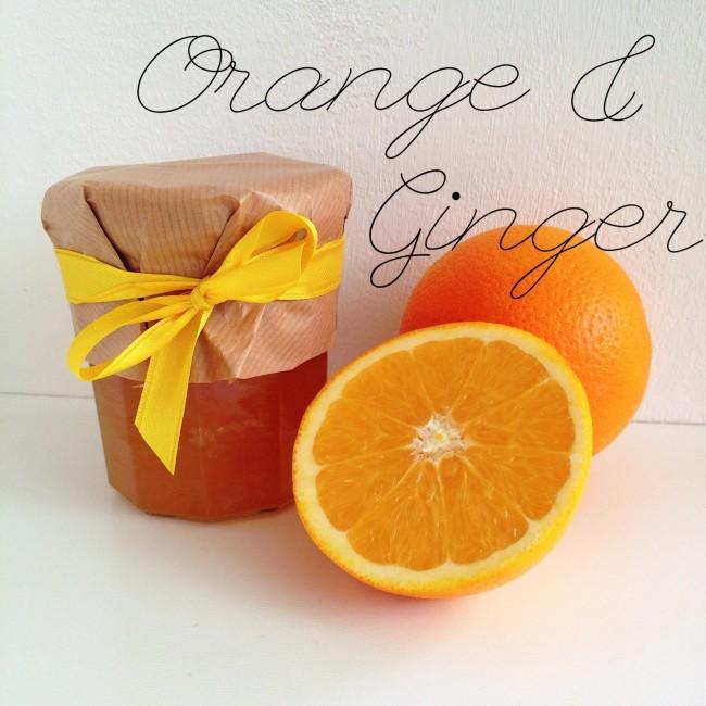 orange ginger jam