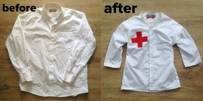 doctors jacket before after