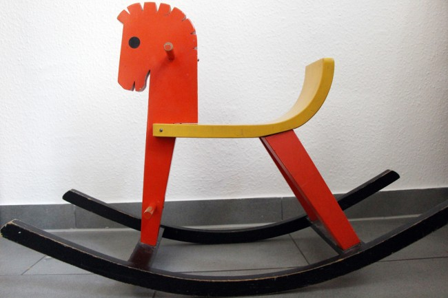 rocking horse zebra makeover 03