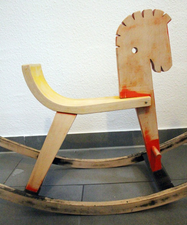 rocking horse zebra makeover 05