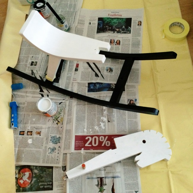 rocking horse zebra makeover 08