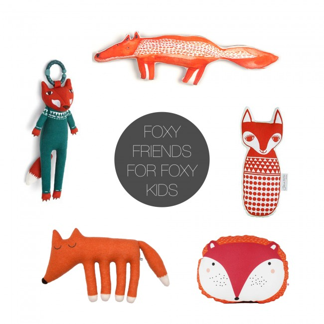 Friday 5 - foxy friends
