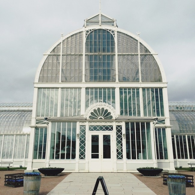 Gothenburg Palm House - outside