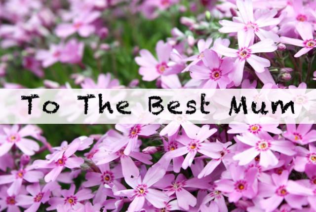 playlist - best mum