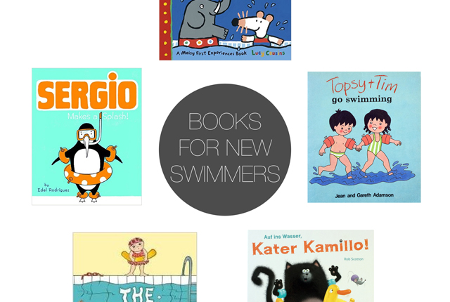 Friday Five - books for swimmers preview