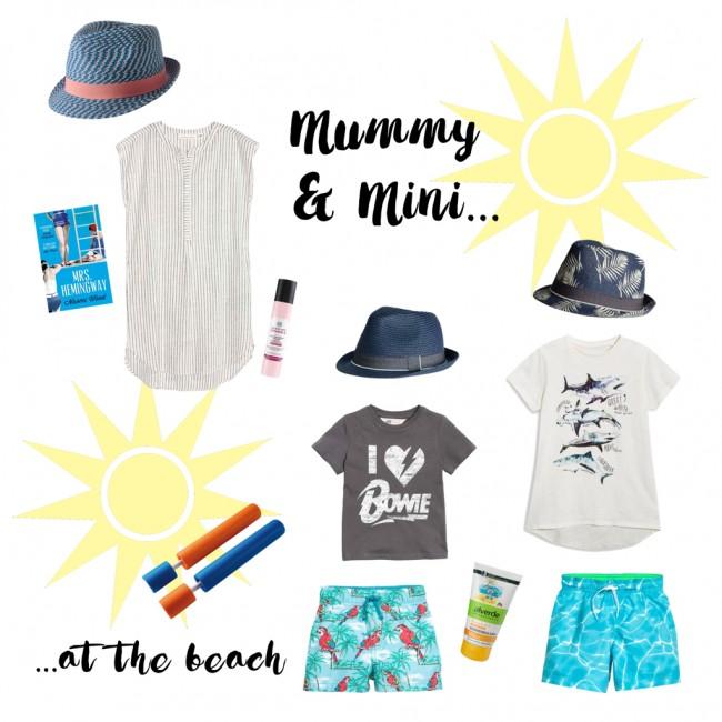 mummy & mini at the beach (draft)