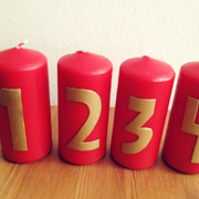 Advent Candles Tutorial