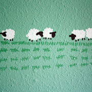 Wall Art: Counting Sheep