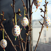 Easter Egg Tree Tutorial