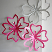 Paper Cherry Blossoms Tutorial