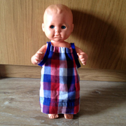 Pillow Case Doll's Dress