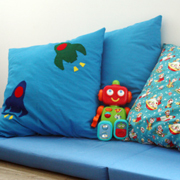 Rocket Cushion Covers Tutorial