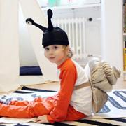 Snail Costume Ikea Hack