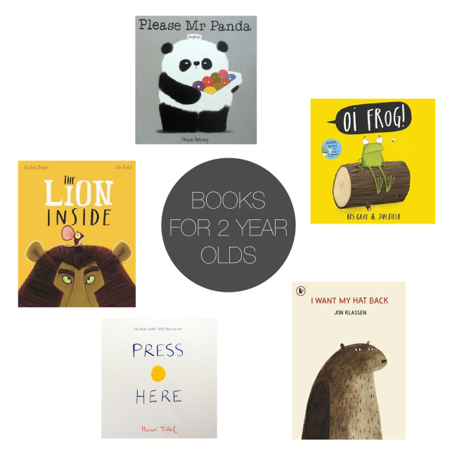 Friday 5 - Books for 2 yrs Olds