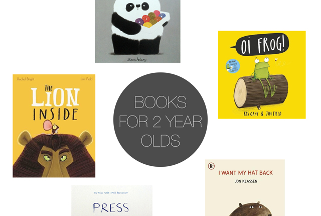 Friday 5 - Books for 2 yrs Olds - Preview