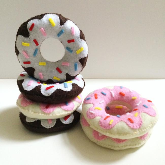 diy felt donuts 10