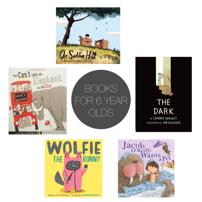Friday 5 - books for 6 year olds
