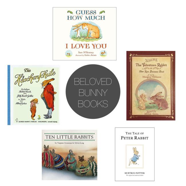 Friday 5 - bunny books