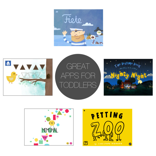 Friday 5 - great apps for toddlers