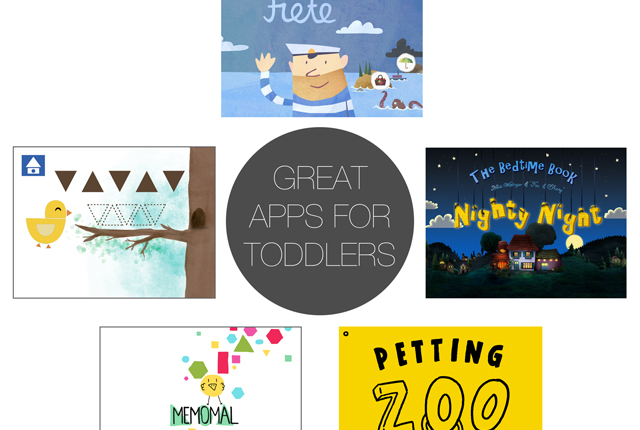 Friday 5 - great apps for toddlers - preview