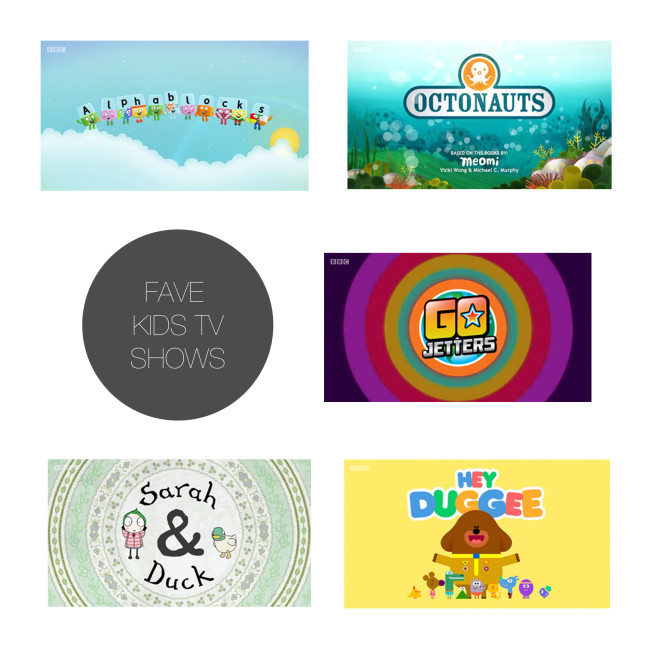 Friday 5 - Fave Kids TV