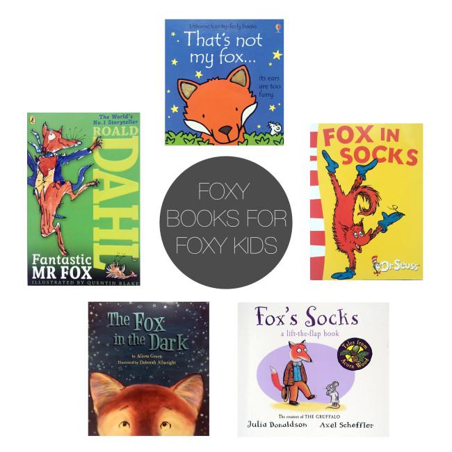 Friday 5 - Foxy Books