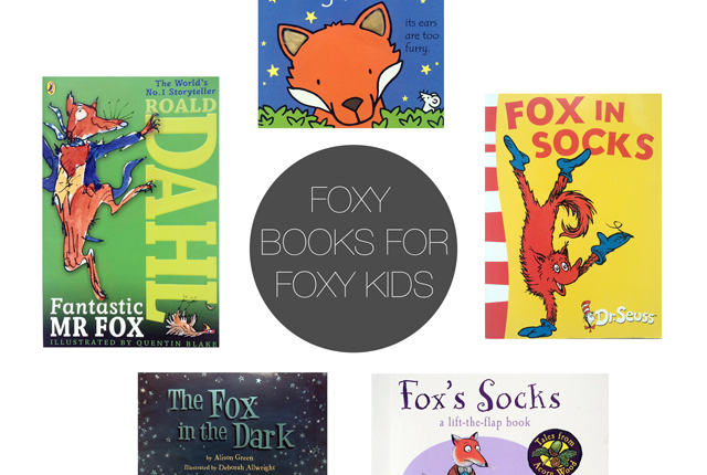 Friday 5 - Foxy Books Preview