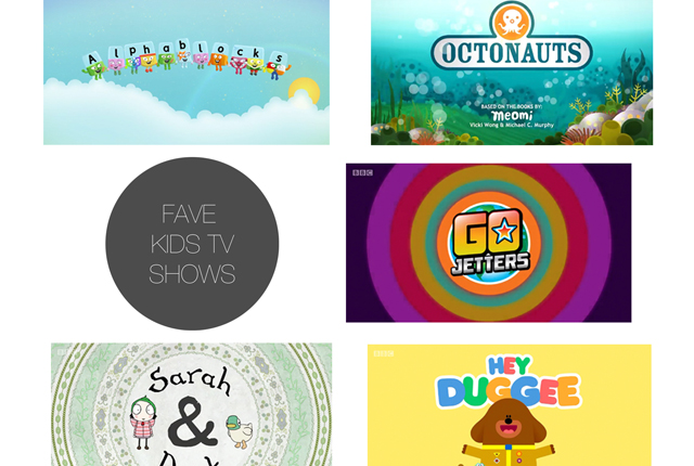 Friday 5 - fave kids tv preview