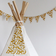Playroom Bunting DIY