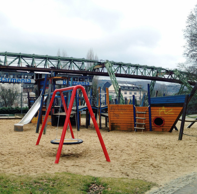 Wuppertal Pirate Ship Playground