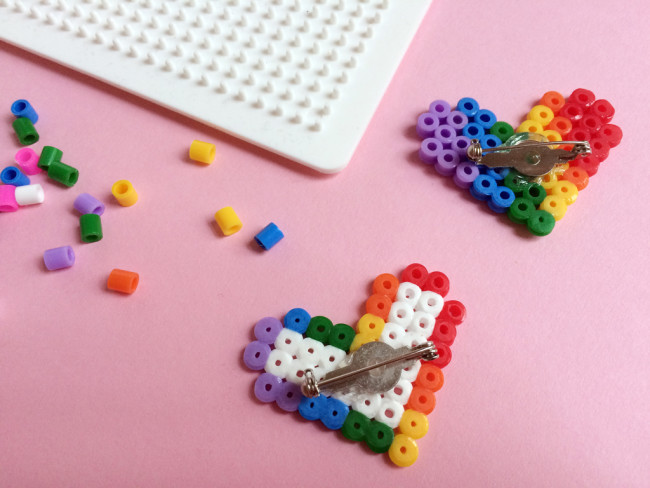 diy fuse bead pride badges 05