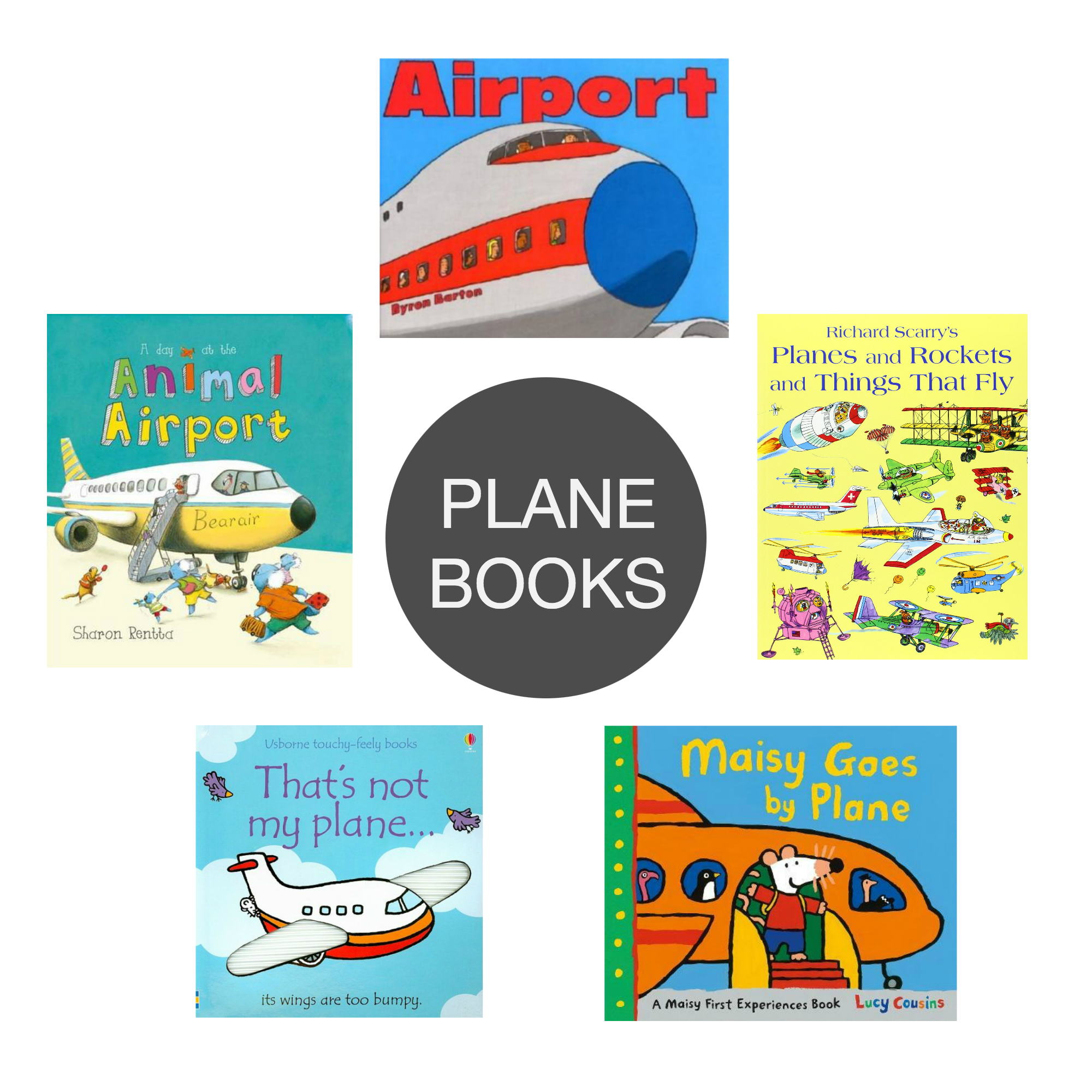 Friday Five Plane Books