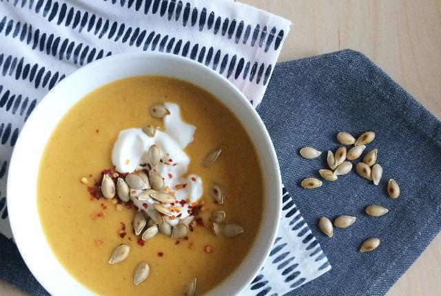 Butternut Squash Soup Preview