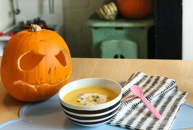 Halloween Pumpkin Soup Preview