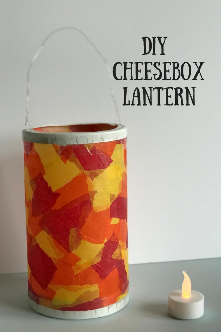 DIY CheeseboxLantern