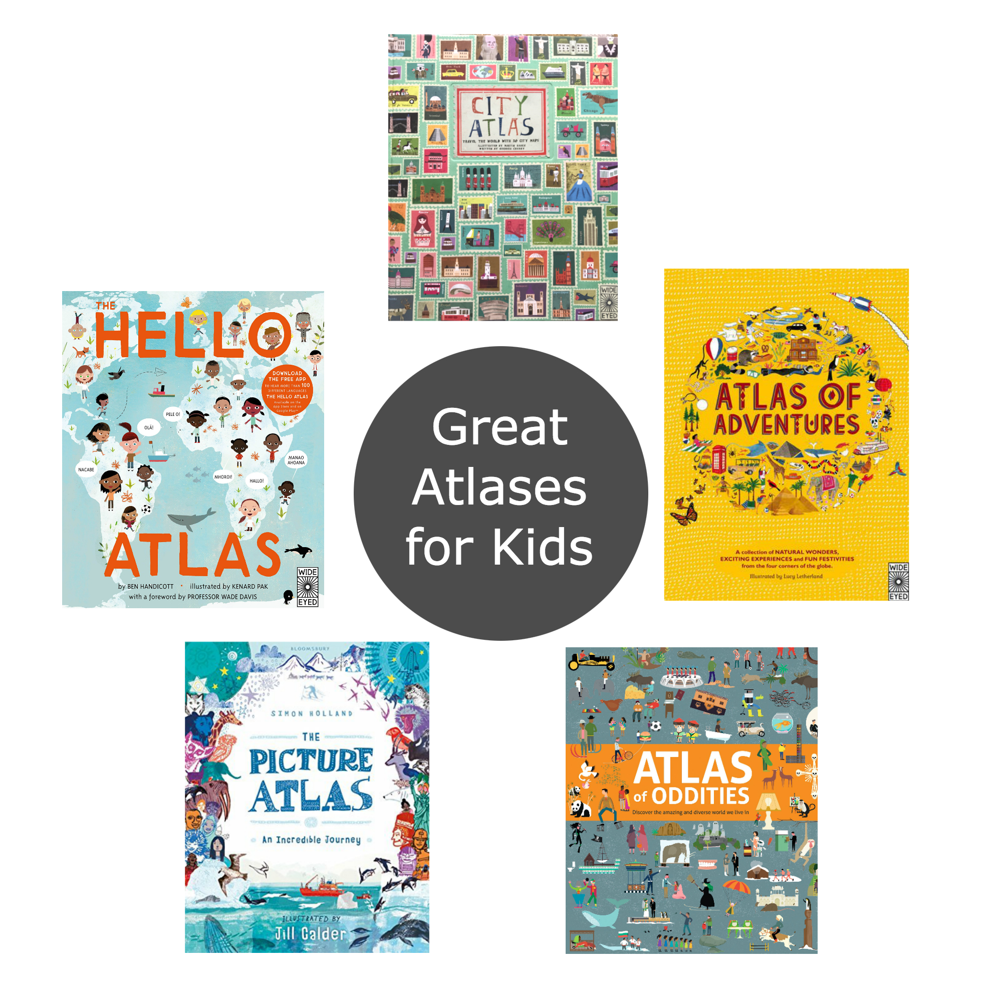 Friday Five Atlases