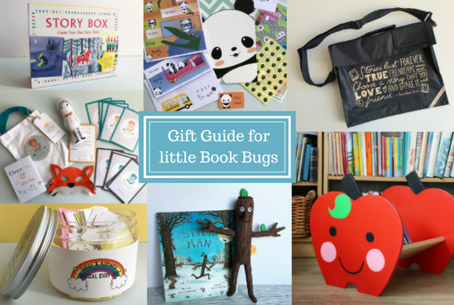 Gift Guide for little Book Bugs