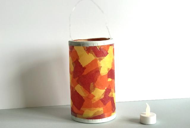 diy cheesebox lantern preview
