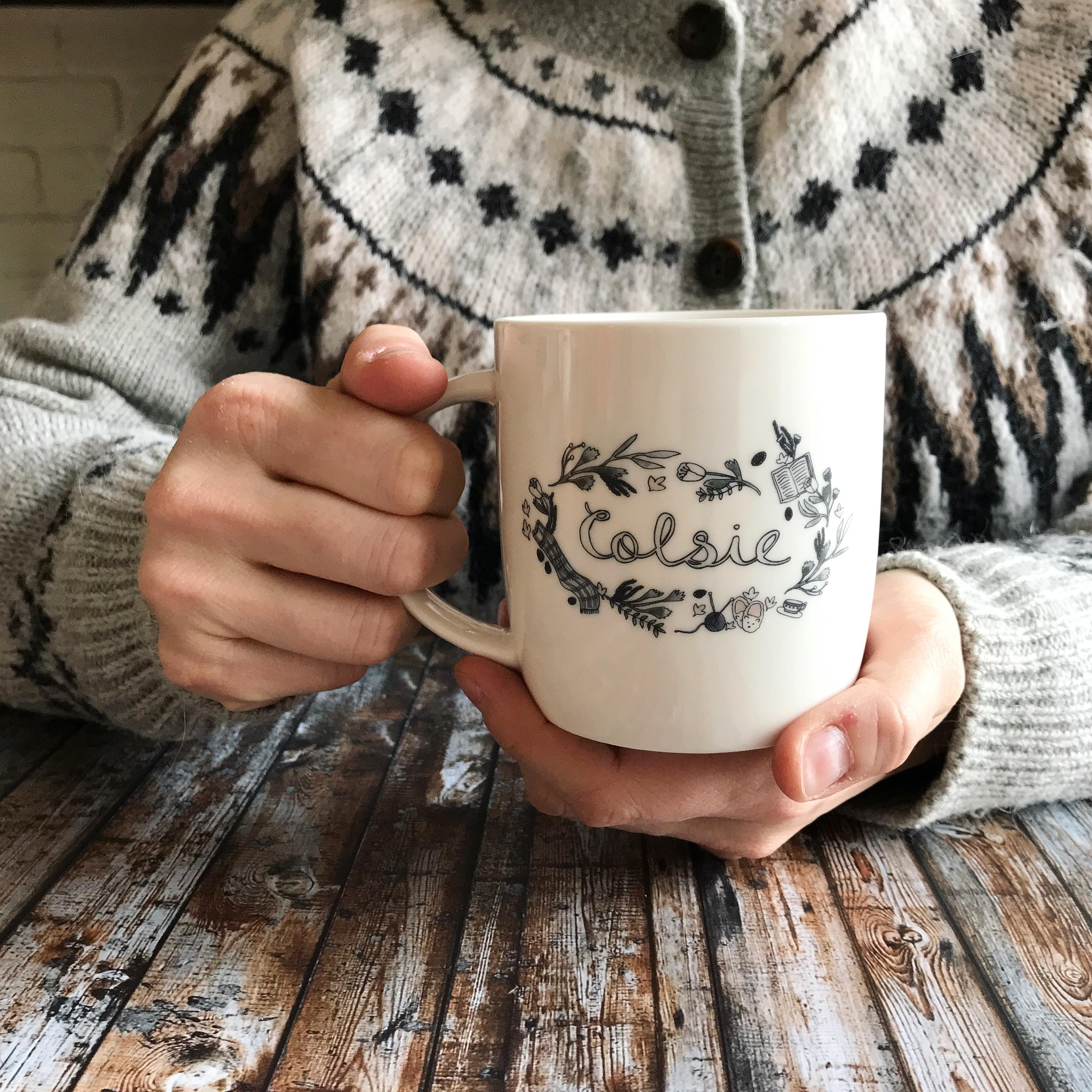 colsie mug