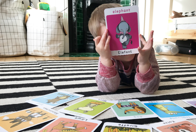 Bilingual Flashcards Preview