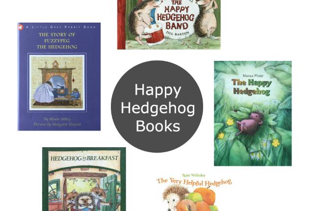 Friday Five Hedgehog Books Preview
