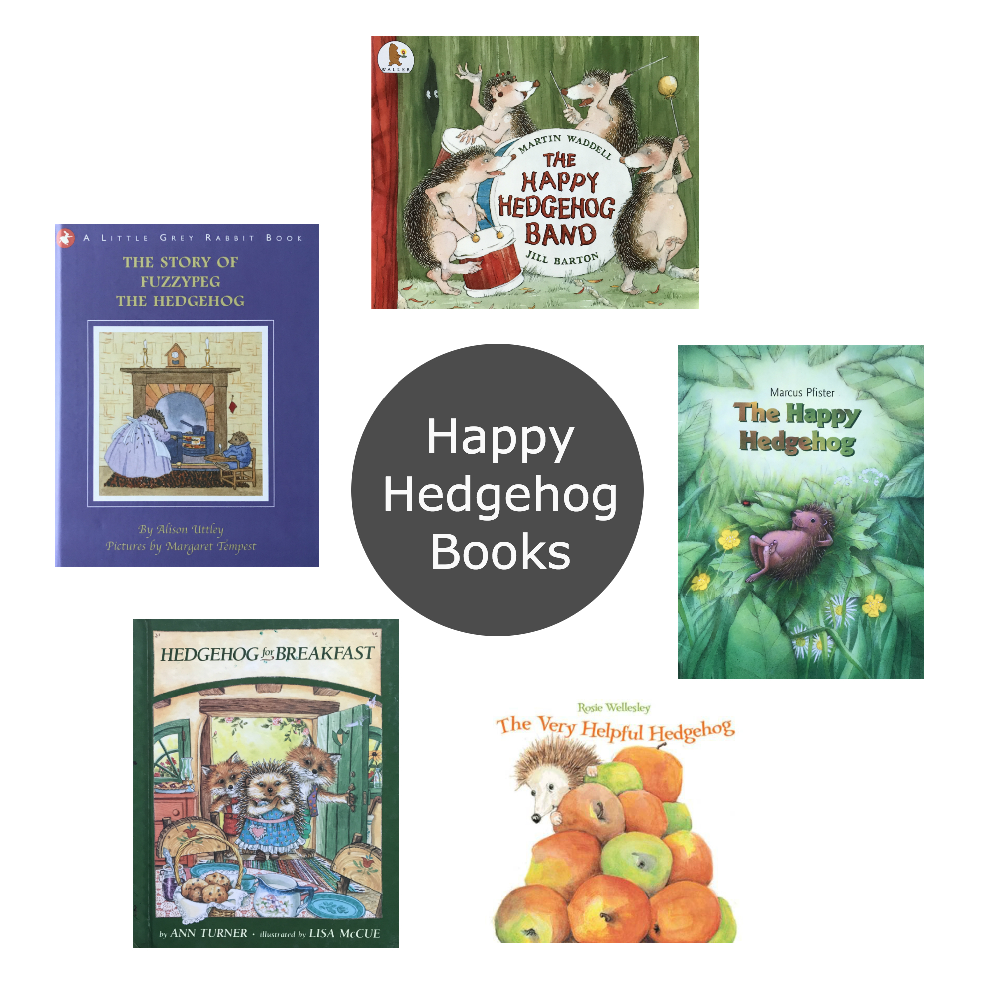 Friday Five Hedgehog Books