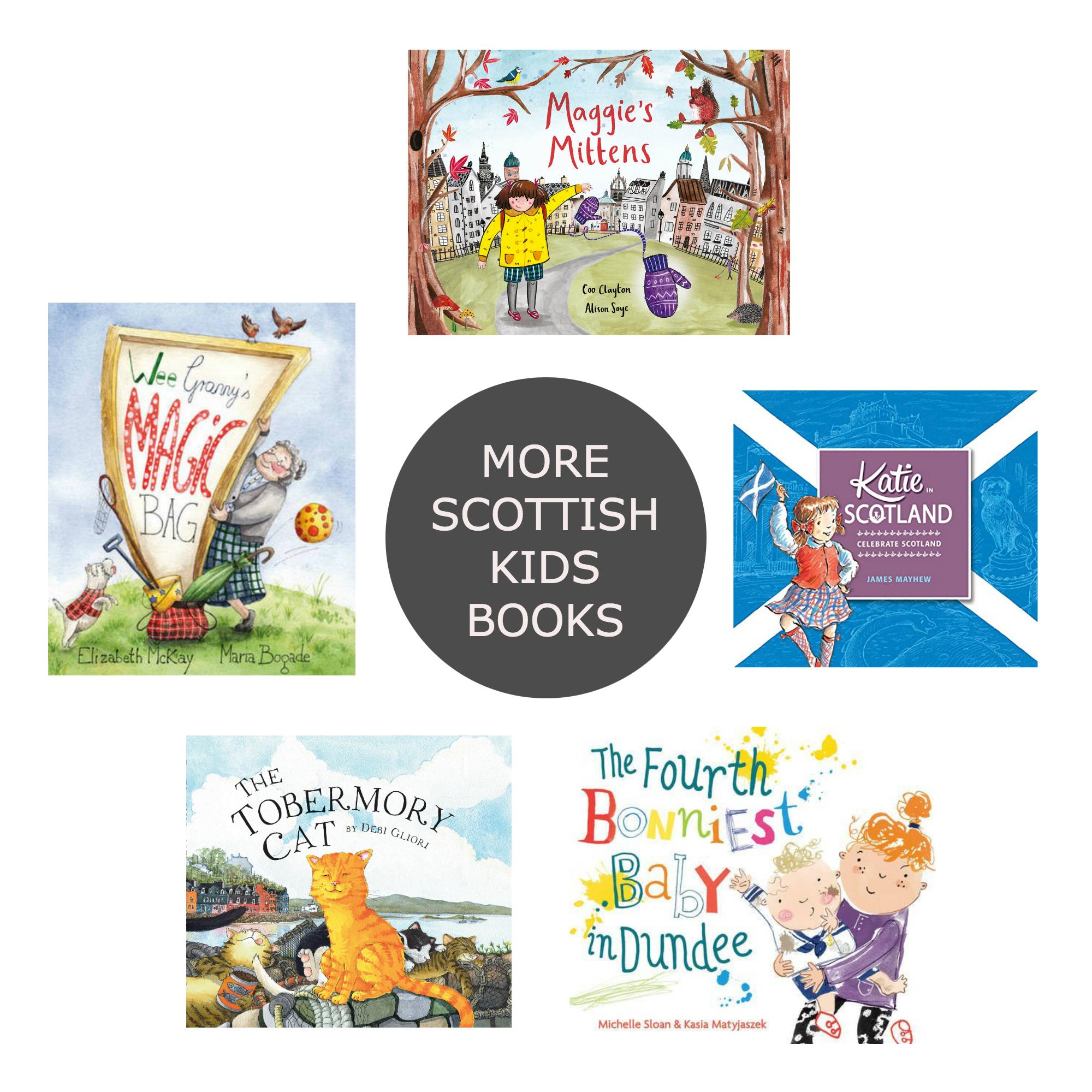 Friday Five More Scottish Kids Books