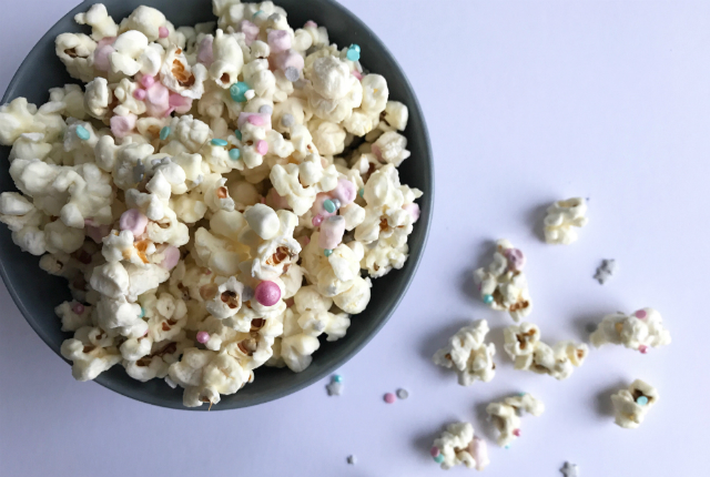 chocolate marshmallow popcorn preview