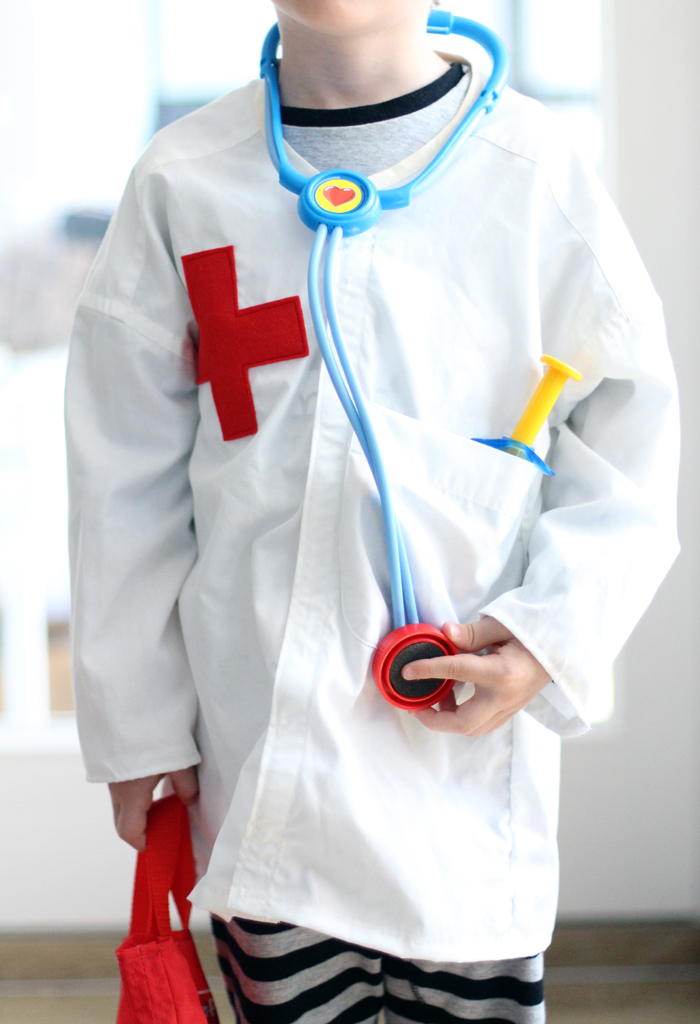 diy doctors coat