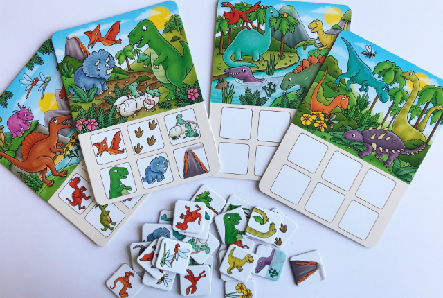 Dinosaur Lotto Preview